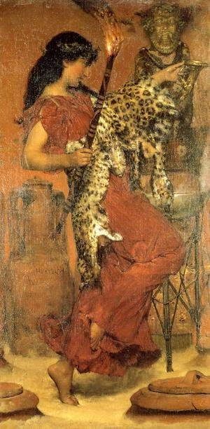 Reproduction oil paintings - Sir Lawrence Alma-Tadema - Autumn  Vintage Festival