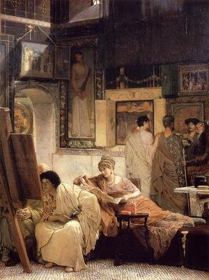 Famous paintings of Paintings of paintings: A Picture Gallery