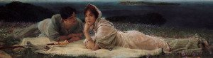 Reproduction oil paintings - Sir Lawrence Alma-Tadema - A World Of Their Own