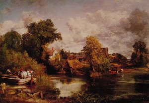 Reproduction oil paintings - John Constable - The White Horse