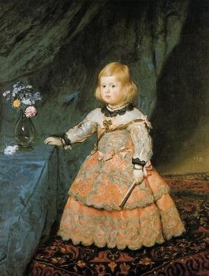 Reproduction oil paintings - Velazquez - Infanta Marguarite Therese