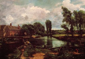 Famous paintings of Mills: A Water Mill