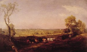 Reproduction oil paintings - John Constable - Dedham Vale Morning