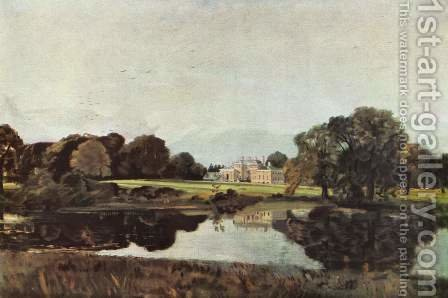 John Constable: Malvern Hall in Warwickshire 1809 - reproduction oil painting