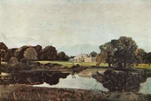 Reproduction oil paintings - John Constable - Malvern Hall in Warwickshire 1809