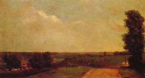 Reproduction oil paintings - John Constable - View Towards Dedham