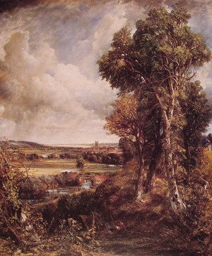 Reproduction oil paintings - John Constable - Dedham Vale 1802