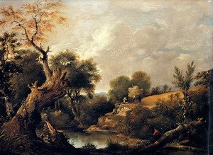 Reproduction oil paintings - John Constable - The Harvest Field