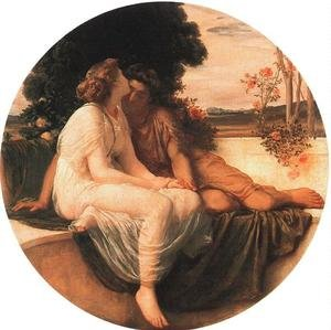 Reproduction oil paintings - Lord Frederick Leighton - Acme And Septimus