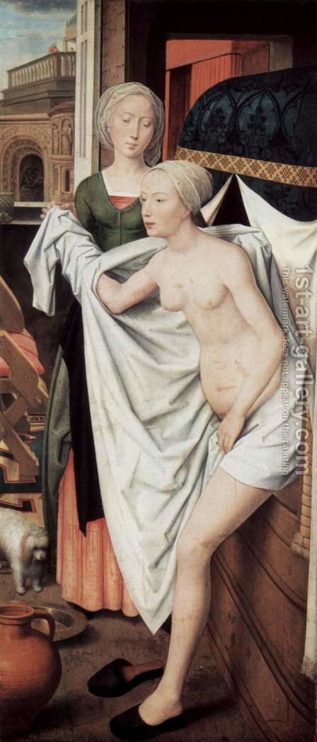 Bathsheba 1485 by Hans Memling - Reproduction Oil Painting