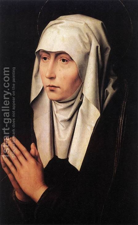 Mater Dolorosa 1480s by Hans Memling - Reproduction Oil Painting