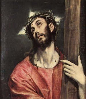 Mannerism painting reproductions: Christ Carrying The Cross