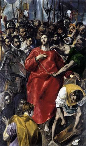 Mannerism painting reproductions: The Disrobing of Christ (El Espolio) 1577-79