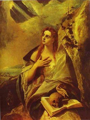 Mannerism painting reproductions: St Mary Magdalene
