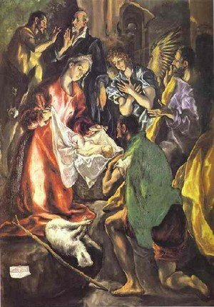 Mannerism painting reproductions: The Adoration Of The Shepherds Ii