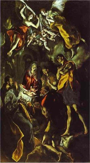 Mannerism painting reproductions: The Adoration Of The Shepherds Iii