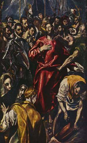 Mannerism painting reproductions: The Disrobing of Christ, 1583-84