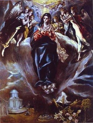 Mannerism painting reproductions: The Immaculate Conception