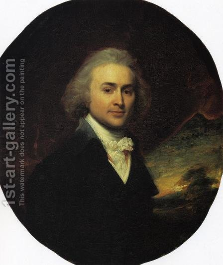 John Quincy Adams by John Singleton Copley - Reproduction Oil Painting