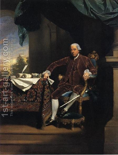 Henry Laurens by John Singleton Copley - Reproduction Oil Painting