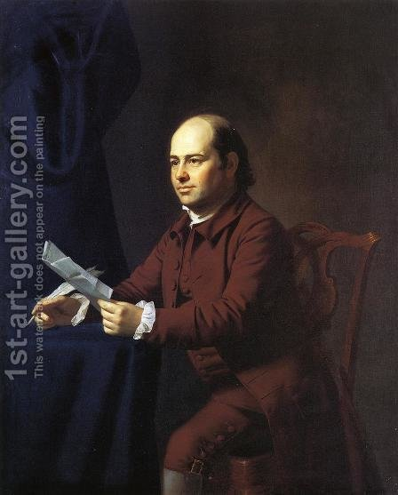 Miles Sherbrook by John Singleton Copley - Reproduction Oil Painting