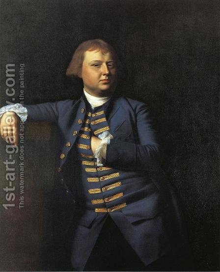 Lemuel Cox by John Singleton Copley - Reproduction Oil Painting