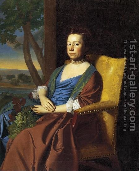 Mrs  Isaac Smith by John Singleton Copley - Reproduction Oil Painting
