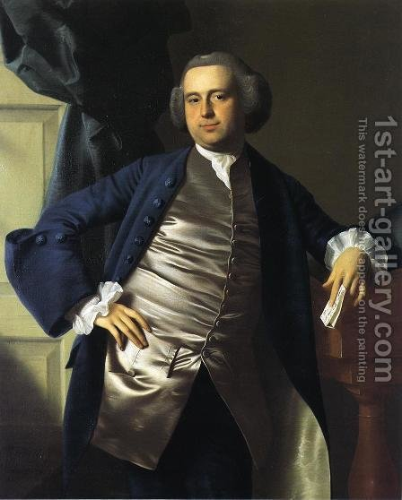 Moses Gill by John Singleton Copley - Reproduction Oil Painting
