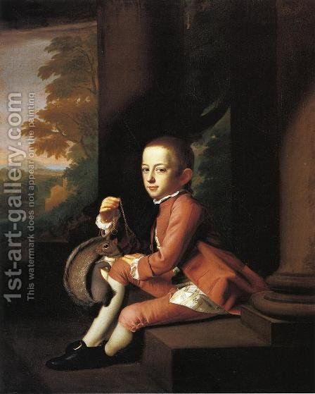 Daniel Crommelin Verplanck by John Singleton Copley - Reproduction Oil Painting