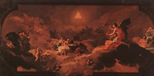 Reproduction oil paintings - Goya - The Adoration Of The Name Of The Lord