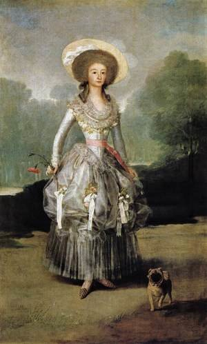 Reproduction oil paintings - Goya - Marquesa De Pontejos