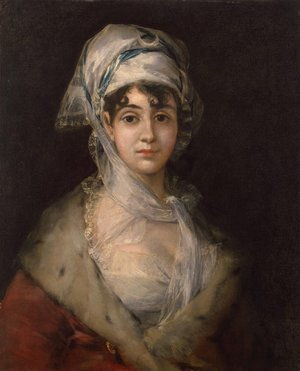 Reproduction oil paintings - Goya - Antonia Zarate