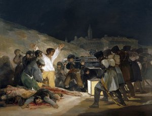 Reproduction oil paintings - Goya - May 3  1808