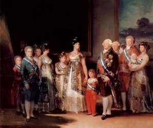 Reproduction oil paintings - Goya - Charles IV And His Family