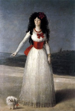 Reproduction oil paintings - Goya - The Duchess Of Alba
