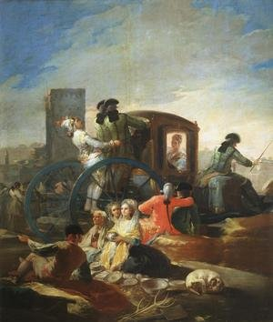 Reproduction oil paintings - Goya - The Crockery Vendor
