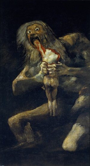 Goya reproductions - Saturn Devouring His Sons