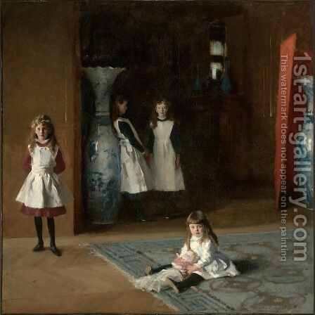 Sargent: The Daughters Of Edward Darley Boit - reproduction oil painting
