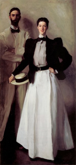 Reproduction oil paintings - Sargent - Mr  And Mrs  Isaac Newton Phelps Stokes