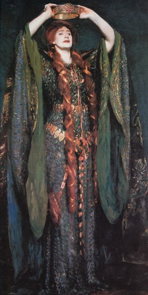 Reproduction oil paintings - Sargent - Miss Ellen Terry As Lady Macbeth