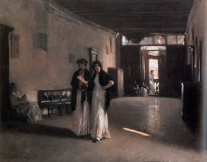 Reproduction oil paintings - Sargent - Venetian Interior