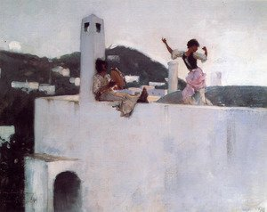 Famous paintings of Houses: Capri