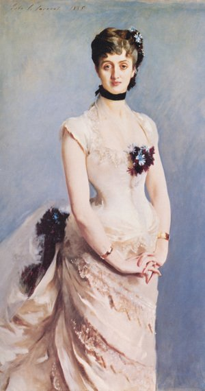 Reproduction oil paintings - Sargent - Madame Paul Poirson