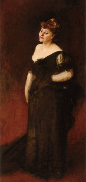 Reproduction oil paintings - Sargent - Portrait Of Mrs Harry Vane Milbank