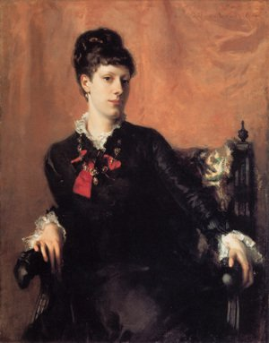 Reproduction oil paintings - Sargent - Miss Frances Sherborne Ridley Watts
