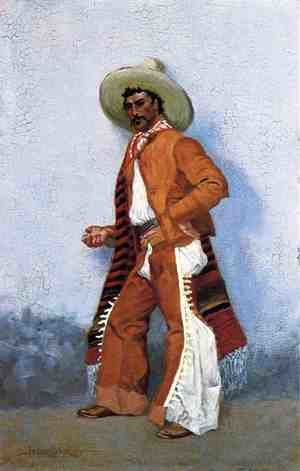 Famous paintings of Wild West: A Vaquero