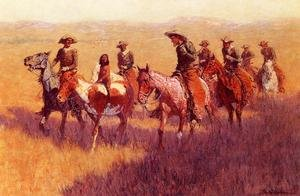 Famous paintings of Wild West: An Assault On His Dignity