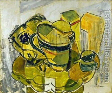 Still Life No  7 by Alfred Henry Maurer - Reproduction Oil Painting
