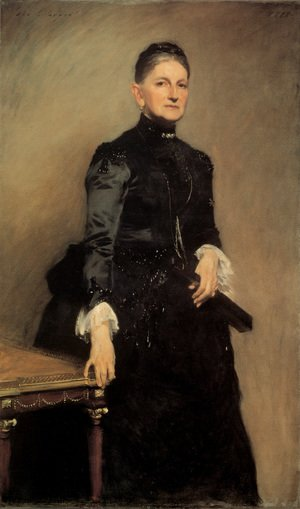 Reproduction oil paintings - Sargent - Mrs Adrian Iselin