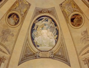Reproduction oil paintings - Sargent - Architecture  Painting And Sculpture Protected By Athena From The Ravages Of Time